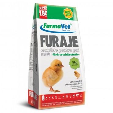 FarmaVet Furaje Complete pentru Pui Brizurat Start-Crestere - 5kg