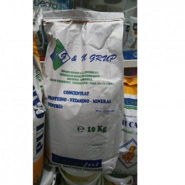 Salvafarm Concentrat 33% Proteino-Vitamino-Mineral Pui Carne - 10kg