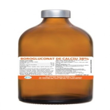 BOROGLUCONAT DE CALCIU 38% INJECTABIL100ML