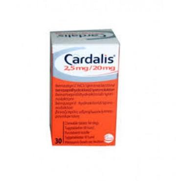 CARDALIS 2.5MG