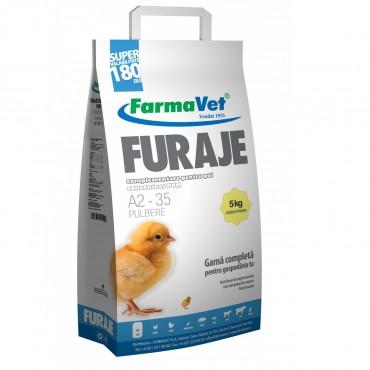FarmaVet Furaje Complete pentru Pui Pulbere Start-Crestere - 5kg