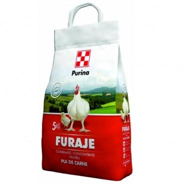 Purina UNI FURAJE Combinate/Concentrate pentru PUI DE CARNE - 5 kg