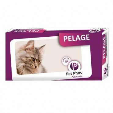 PET-PHOS PELAGE CAT COMPRIMATE