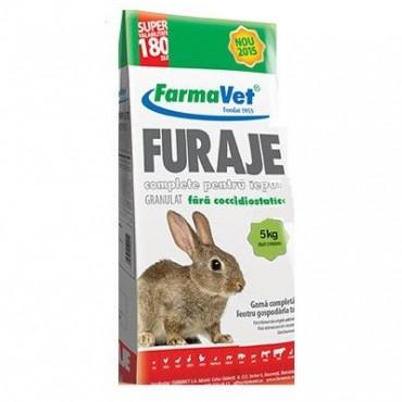 FarmaVet Furaje Iepuri - 5kg