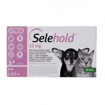 Selehold Spot On Puppy&Kitten 15mg (