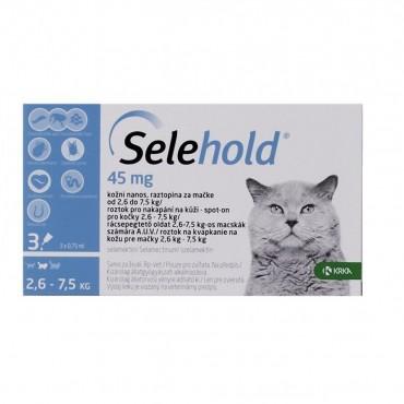 Selehold Cat 45 mg (2.6 - 7.5 kg)