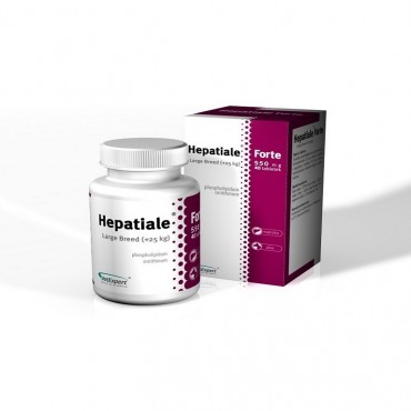 Hepatiale Forte Large Breed (+25kg) - 40 capsule Twist Off