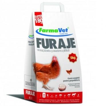 FarmaVet Furaje Complet pentru Gaini Ouatoare, Brizurat - 5kg
